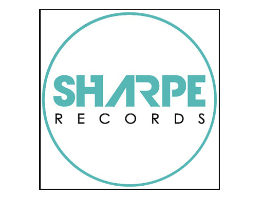 Logo for Sharpe Records, a sub-label of Alchemical Records featuring EDM artists.