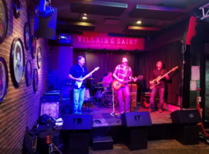 Braddock Station Garrison performing live music at Villain and Saint in Bethesda, MD