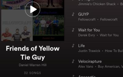 Friends of YellowTieGuy Spotify Playlist