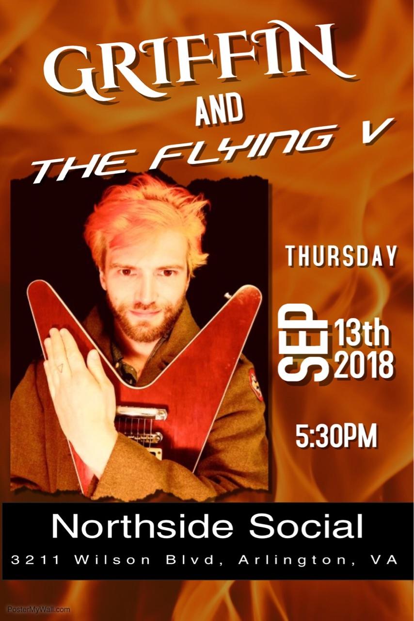 Griffin and the Flying V at Northside Social
