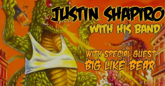 Justin Shapiro LIVE! at Villain & Saint, With Big Like Bear