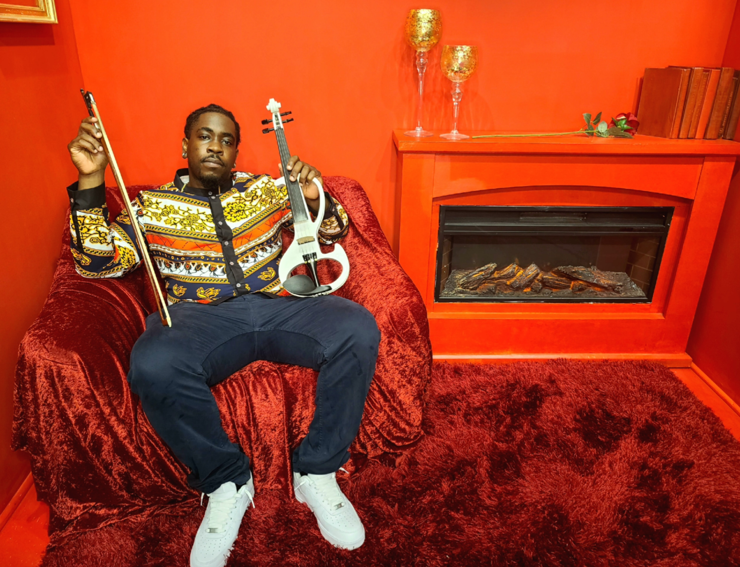 D.C. violinist Marvillous Beats fuses hip-hop and classical music