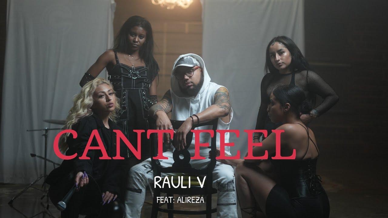 "Rauli V ""Can't Feel"" (feat. Alireza) Cover Art"